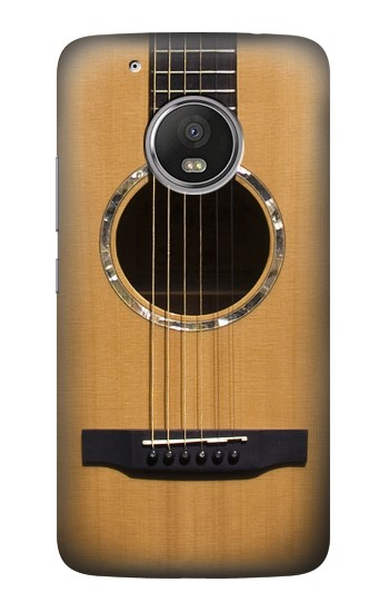 Printed Acoustic Guitar HTC One (E8) Case