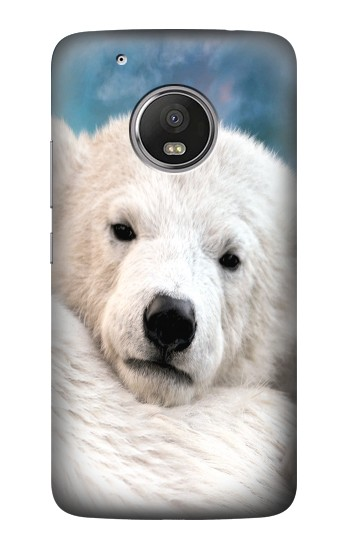 Printed Polar Bear HTC One (E8) Case