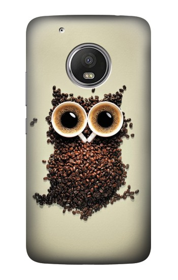 Printed Coffee Owl HTC One (E8) Case