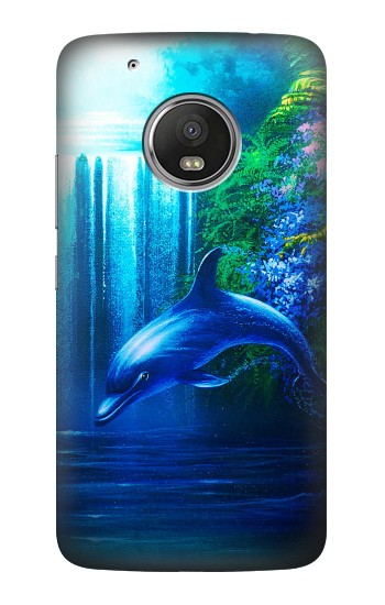 Printed Dolphin HTC One (E8) Case