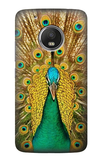 Printed Peacock HTC One (E8) Case