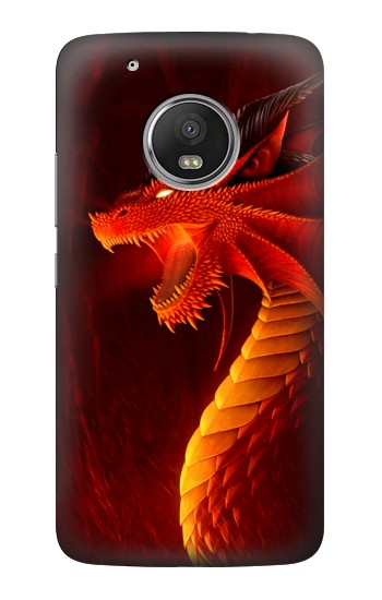 Printed Red Dragon HTC One (E8) Case