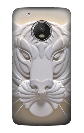 Printed Tiger Carving HTC One (E8) Case