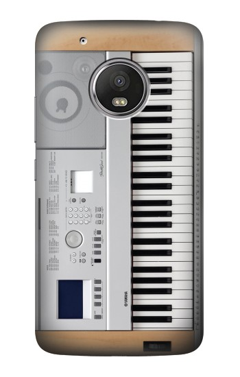 Printed Keyboard Digital Piano HTC One (E8) Case