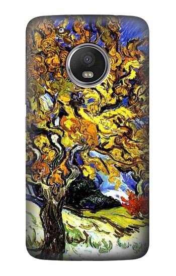 Printed Mulberry Tree Van Gogh HTC One (E8) Case