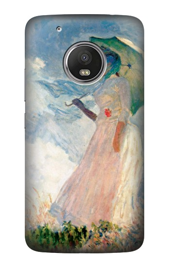 Printed Claude Monet Woman with a Parasol HTC One (E8) Case
