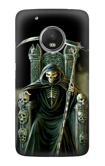 Printed Grim Reaper Skeleton King HTC One (E8) Case