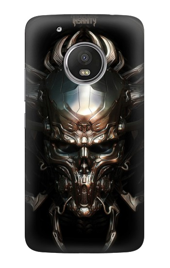 Printed Hardcore Insanity Metal Skull HTC One (E8) Case