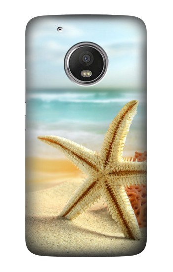 Printed Starfish on the Beach HTC One (E8) Case