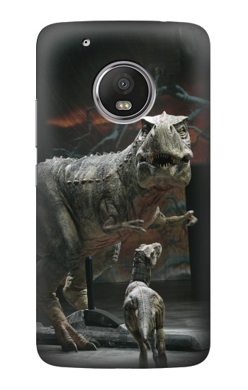 Printed Dinosaur T Rex Museum HTC One (E8) Case