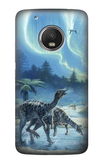 Printed Dinosaurs Jurassic Arora HTC One (E8) Case
