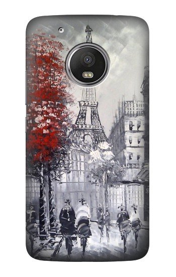 Printed Eiffel Painting of Paris HTC One (E8) Case
