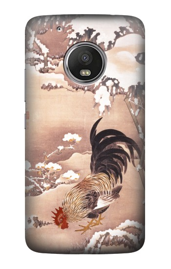 Printed Ito Jakuchu Rooster HTC One (E8) Case