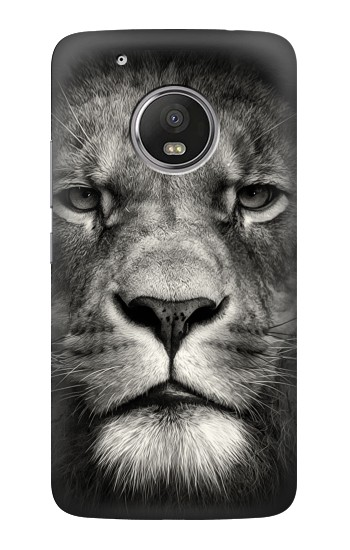 Printed Lion Face HTC One (E8) Case
