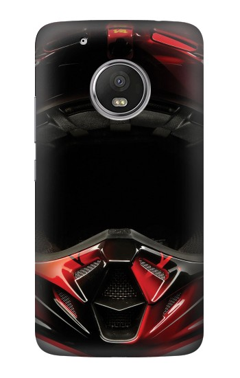 Printed Motorcycle Helmet HTC One (E8) Case