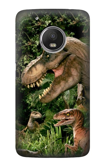 Printed Trex Raptor Dinosaur HTC One (E8) Case