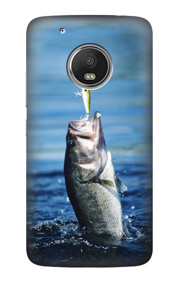 Printed Bass Fishing HTC One (E8) Case