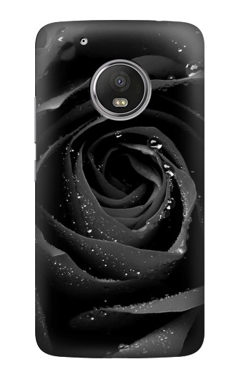 Printed Black Rose HTC One (E8) Case