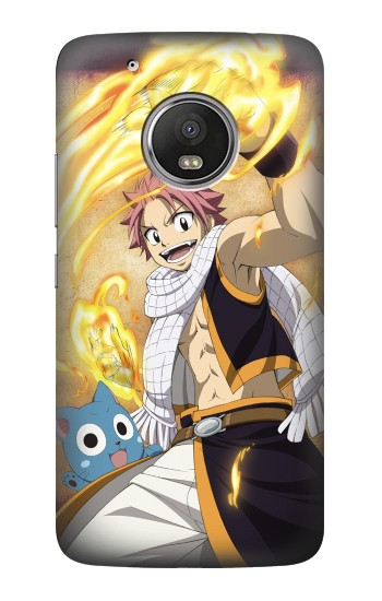 Printed Fairy Tail Natsu Happy HTC One (E8) Case