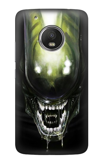 Printed Alien Head HTC One (E8) Case