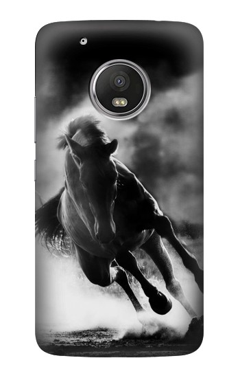 Printed Running Horse HTC One (E8) Case