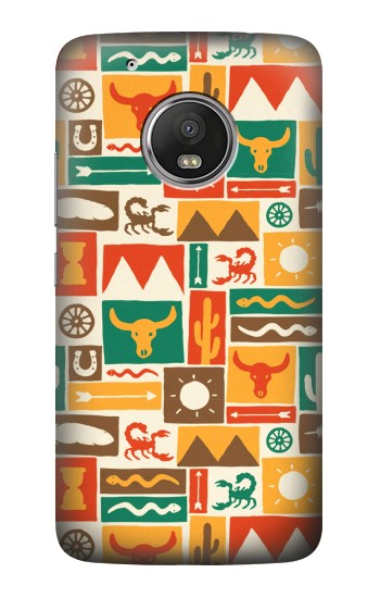 Printed Western Pattern HTC One (E8) Case