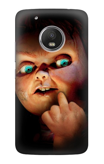 Printed Chucky Middle Finger HTC One (E8) Case