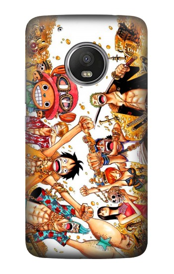 Printed One Piece Straw Hat Luffy Pirate Crew HTC One (E8) Case