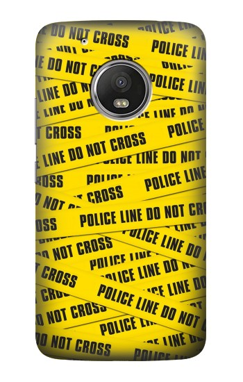 Printed Police Line Do Not Cross HTC One (E8) Case