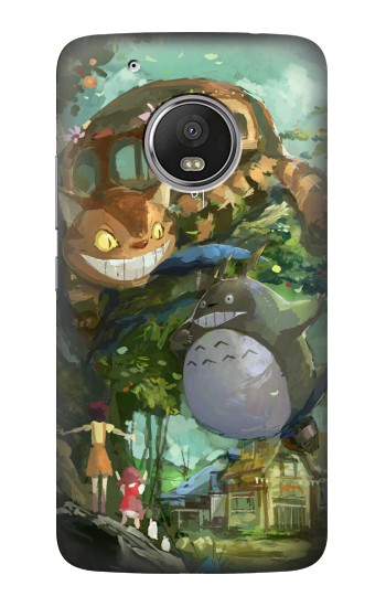 Printed My Neighbor Totoro Cat Bus HTC One (E8) Case