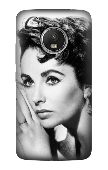 Printed Elizabeth Taylor Young HTC One (E8) Case