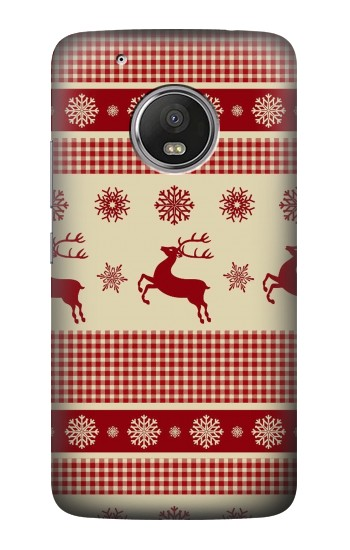 Printed Christmas Snow Reindeers HTC One (E8) Case