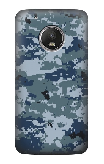 Printed Navy Camo Camouflage Graphic HTC One (E8) Case