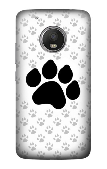 Printed Paw Foot Print HTC One (E8) Case