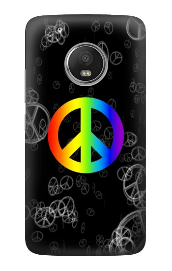 Printed Peace Sign HTC One (E8) Case