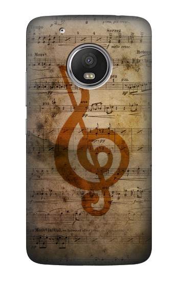 Printed Sheet Music Notes HTC One (E8) Case
