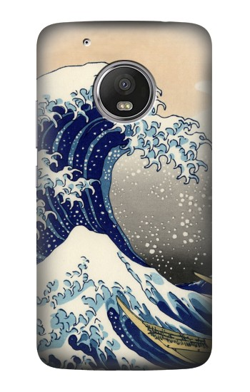 Printed Katsushika Hokusai The Great Wave off Kanagawa HTC One (E8) Case