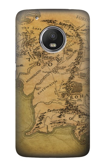 Printed The Lord Of The Rings Middle Earth Map HTC One (E8) Case