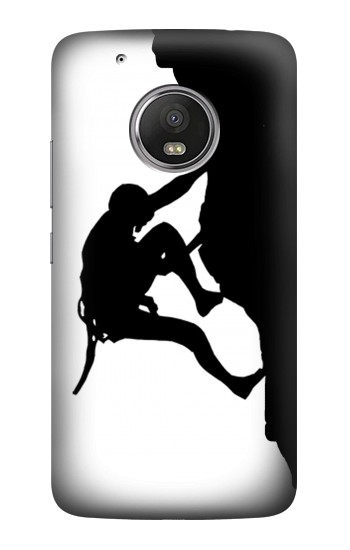 Printed Mountain Climber Climbing HTC One (E8) Case