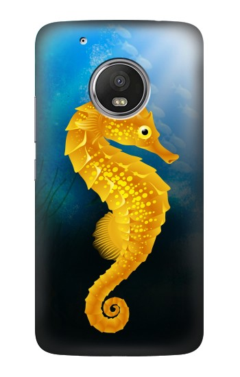Printed Seahorse Underwater World HTC One (E8) Case