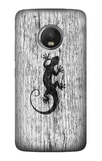 Printed Gecko Wood Graphics Printed HTC One (E8) Case