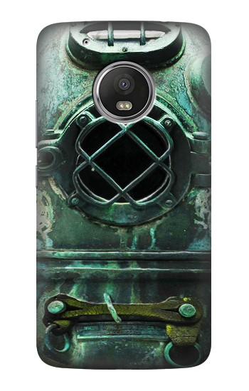 Printed Antique Vintage Deep Sea Diver Helmet HTC One (E8) Case