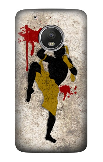 Printed Muay Thai Fight Boxing Blood Splatter HTC One (E8) Case