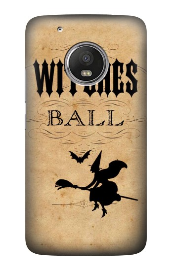 Printed Vintage Halloween The Witches Ball HTC One (E8) Case