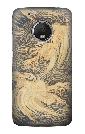 Printed Obi With Stylized Waves HTC One (E8) Case