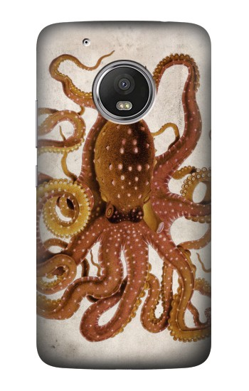Printed Vintage Octopus HTC One (E8) Case
