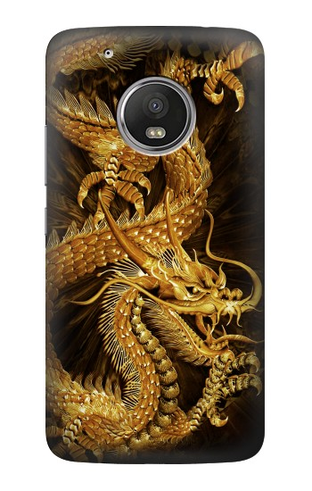 Printed Chinese Gold Dragon Printed HTC One (E8) Case