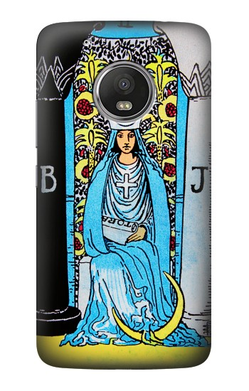 Printed The High Priestess Vintage Tarot Card HTC One (E8) Case