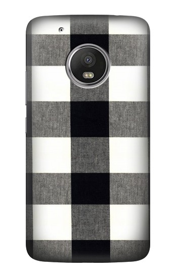 Printed Black and White Buffalo Check Pattern HTC One (E8) Case