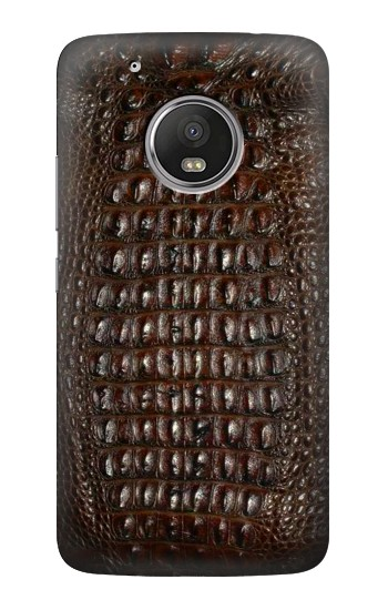 Printed Brown Skin Alligator Graphic Printed HTC One (E8) Case
